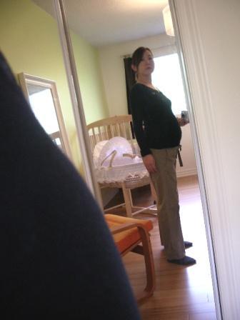 妊娠32週目の私