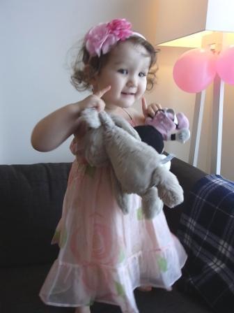 3歳のプリンセス