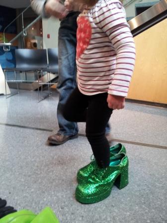 大きすぎる靴