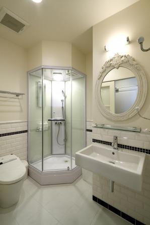 病室のバスルーム