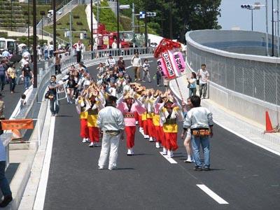 環八施設見学会(4)阿波踊り