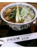 山菜そば@ゆとり都