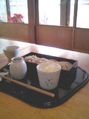 よし田で年越し蕎麦(1)