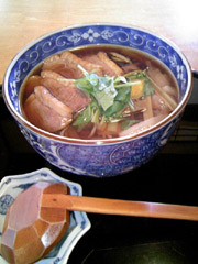 よし田で年越し蕎麦(2)