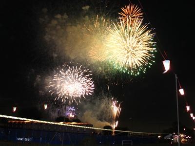 いたばし花火大会2012