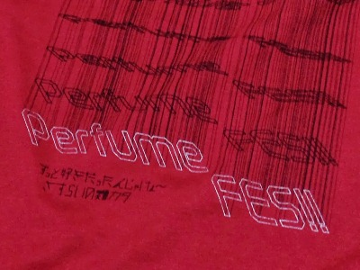 Perfume対バンTシャツ