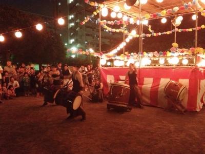 高島平二丁目町会盆踊り