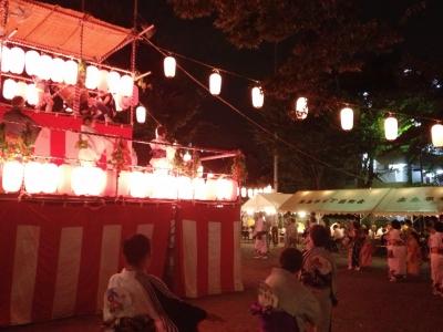 高島平七丁目町会盆踊り