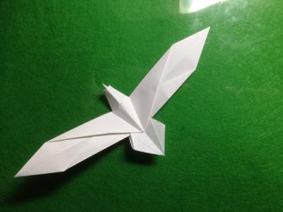 クリスマス 折り紙 折り紙 鳥 : withjugyo.jugem.jp