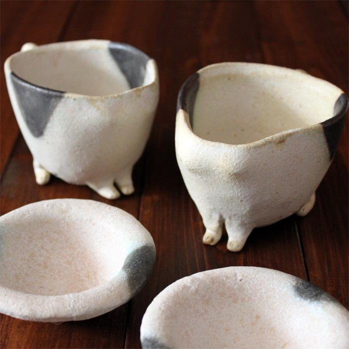ブチ猫マグカップ