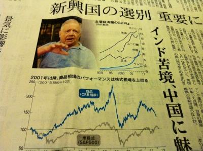 日経新聞201200620ジムロジャース
