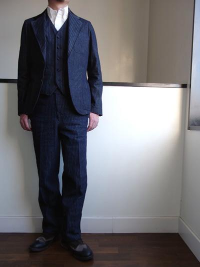 the stylist japan デニムタキシードスーツ.jpg