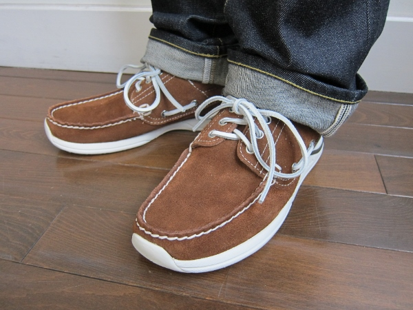 visvim ビズビム  HOCKNEY-FOLK  BROWN 1.jpg