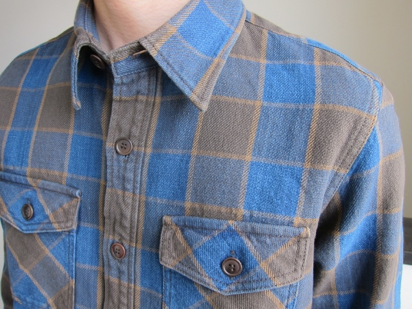 BLACK ELK FLANNEL (INDIGO CHECK) BROWN  1.jpg