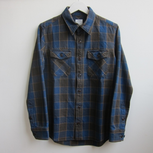 BLACK ELK FLANNEL (INDIGO CHECK) BROWN  2.jpg