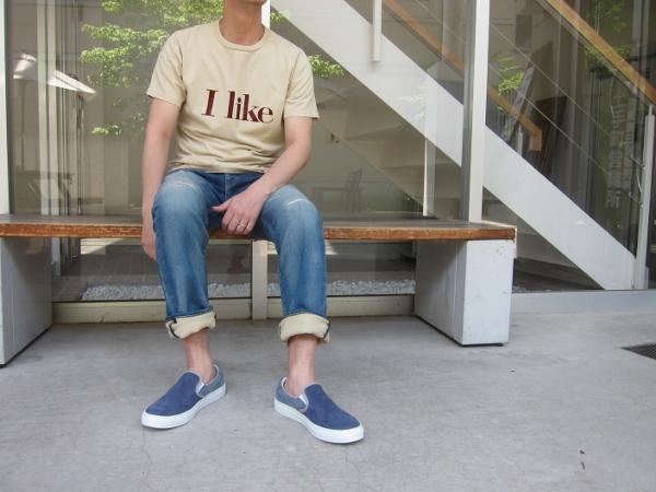 R.H. VINTAGE ロンハーマン ヴィンテージ スウェット ジーンズ  & RON HERMAN DENIM Tシャツ I LIKE.jpg