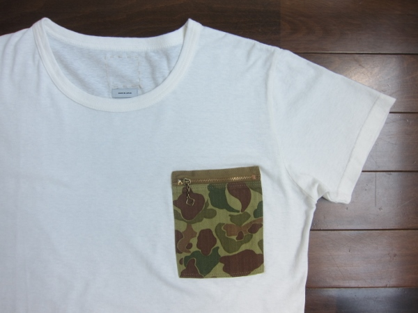 visvim ビズビム POCKET TEE CAMO WHITE 1.jpg