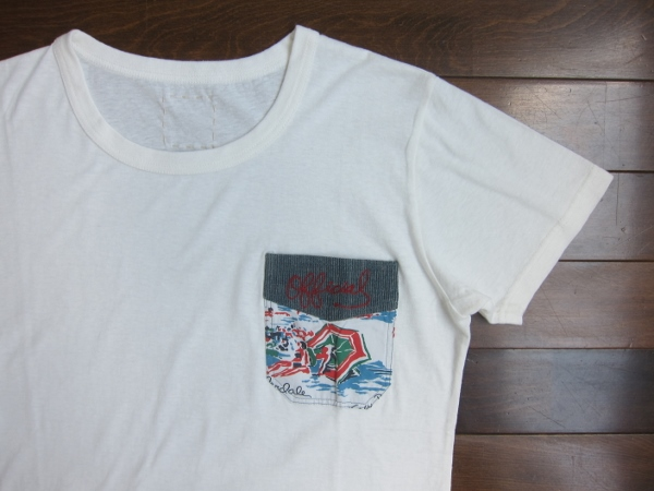 visvim ビズビム WORK POCKET TEE WHITE 1.jpg
