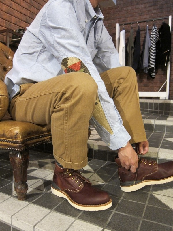 HIGH WATER CHINO HERRINGBONE KHAKI.jpg