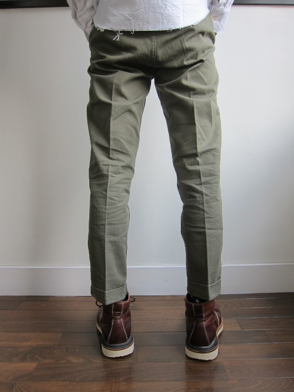 HIGH WATER CHINO HERRINGBONE OLIVE 3.jpg