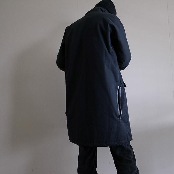 アクロニウム 中綿入りコート ブラック.jpg
