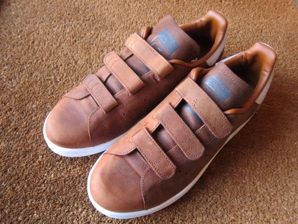 adidas stan smith cf tf アディダス スタンスミス コンフォート ナイトブラウン ダストラスト 1.jpg