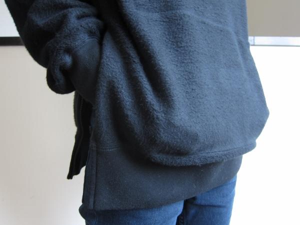 ONES STROKE ワンズストローク MocoLoose turtleneck Sweater black 3.jpg