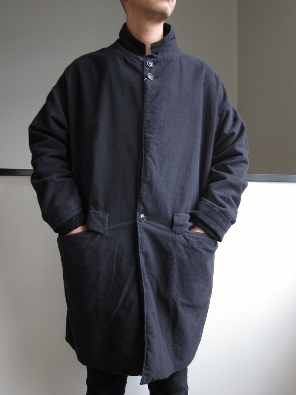 ONES STROKE ワンズストローク Flannel Coat 2.jpg