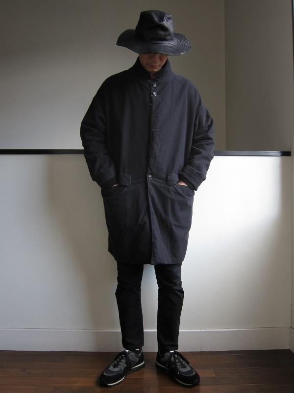 ONES STROKE ワンズストローク Flannel Coat 3.jpg