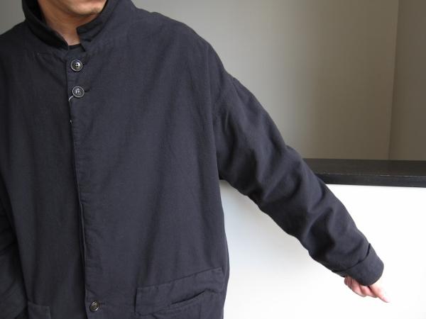 ONES STROKE ワンズストローク Flannel Coat 5.jpg