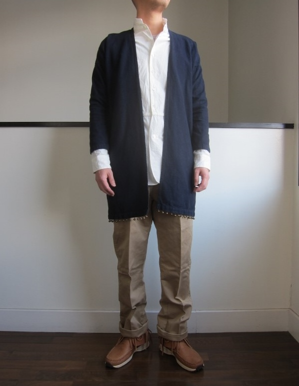 visvim ビズビム SANJURO COAT BRUSHED FLANNEL 5.jpg