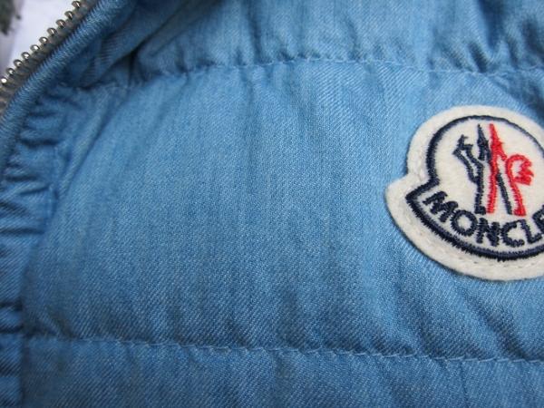 moncler モンクレール DOVER ドーバー デニム ベスト L.BLUE 2.jpg