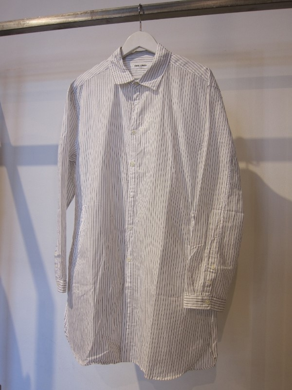 ONES STROKE ワンズストローク Stripe Long Shirt 1.jpg