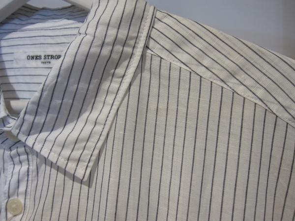 ONES STROKE ワンズストローク Stripe Long Shirt 2.jpg