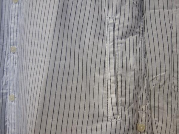 ONES STROKE ワンズストローク Stripe Long Shirt 3.jpg