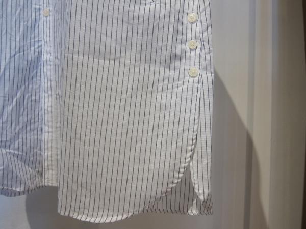 ONES STROKE ワンズストローク Stripe Long Shirt 4.jpg