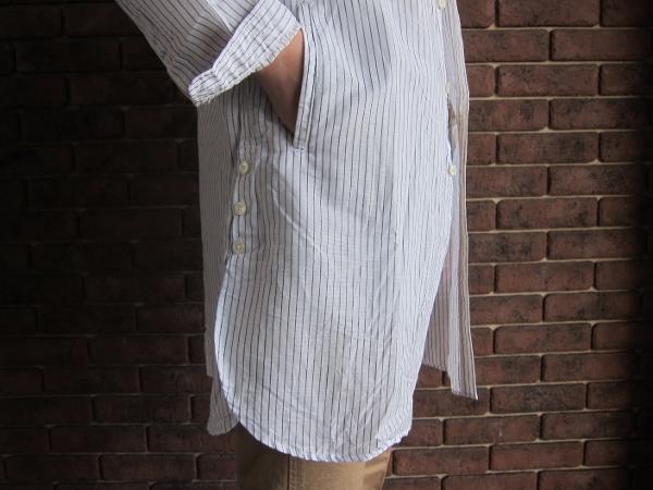 ONES STROKE ワンズストローク Stripe Long Shirt 6.jpg