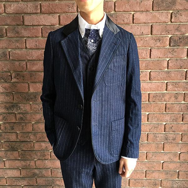 The Stylist Japan タキシードデニムジャケット.JPG