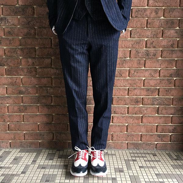 The Stylist Japan タキシードデニムスラックス.JPG
