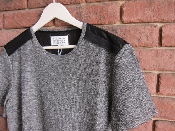 Maison Margiela メゾン マルジェラ Rough Linen Jersey tshirt 1.jpg