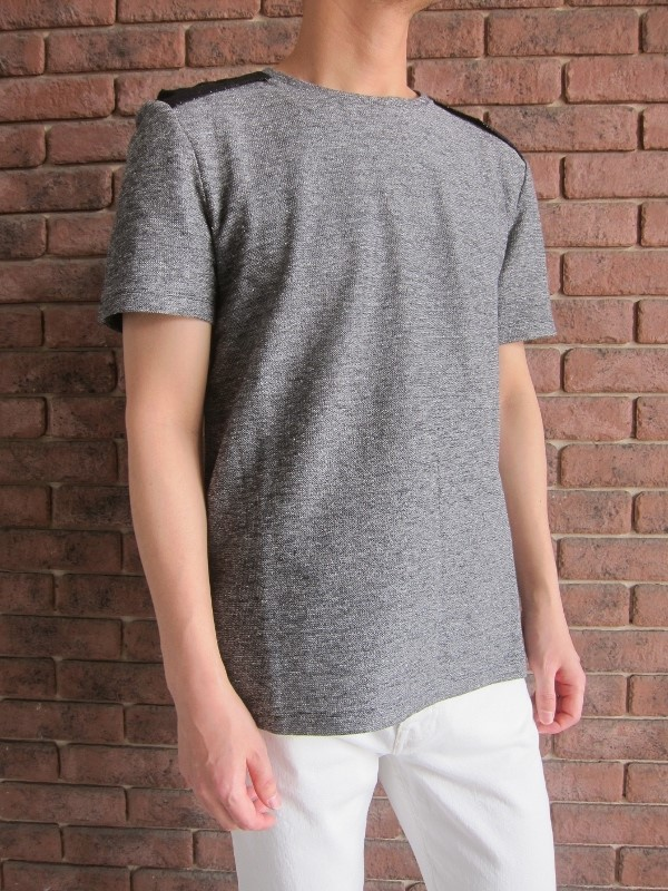 Maison Margiela メゾン マルジェラ Rough Linen Jersey tshirt 5.jpg