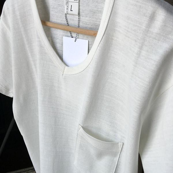 ID DAILYWEAR VネックポケットTシャツ.jpg