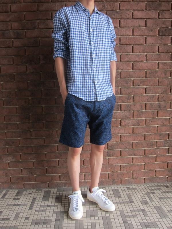 lideal リディアル park shorts ペイズリー 3.jpg
