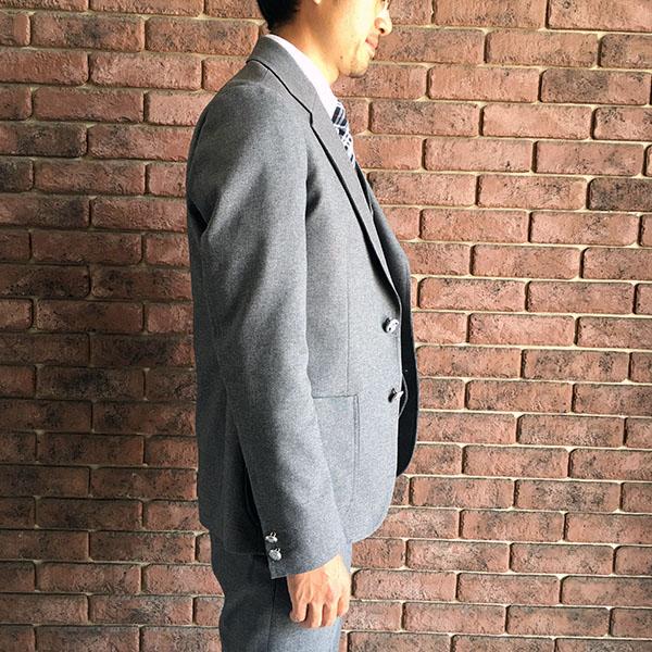 ザスタイリストジャパン ホップサックジャケット グレー.jpg