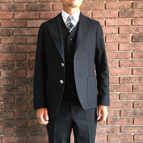 the stylist japan  ホップサックジャケット ブラック.jpg