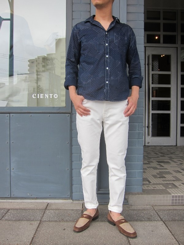 Frank&Eileen フランク&アイリーン LUKE stone washed indigo VDN 4.jpg