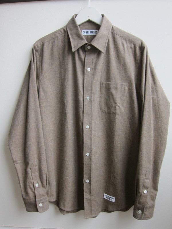 WACKOMARIA ワコマリア SUPERIOR REGULAR COLLAR SHIRT 1.jpg