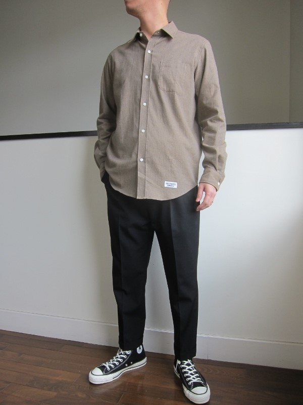 WACKOMARIA ワコマリア SUPERIOR REGULAR COLLAR SHIRT 3.jpg
