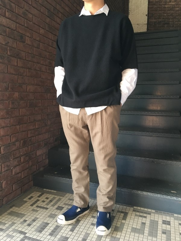 ONES STROKE ワンズストローク Double Face Reversible Oversized SS Sweater 6.jpg