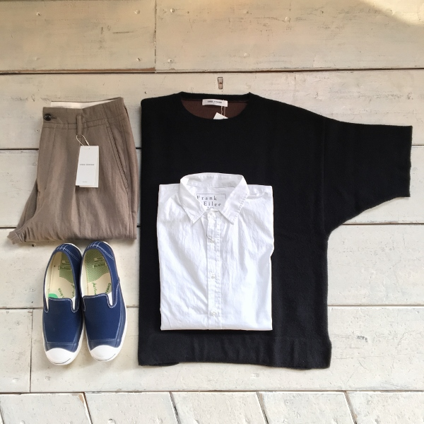 ONES STROKE ワンズストローク Double Face Reversible Oversized SS Sweater 8.jpg